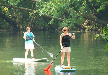 SUP Tour on the Saluda River
